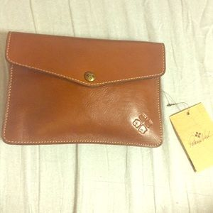Patricia Nash genuine leather Clutch